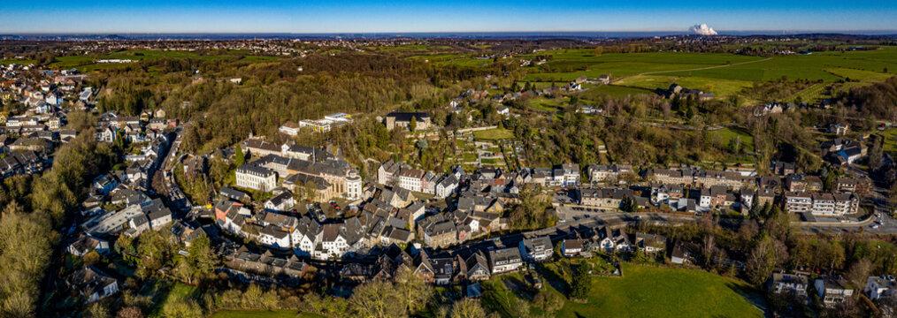 Aachen Kornelimünster Luftbild Panorama