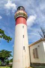Lighthouse of Sainte Suzanne on Reunion island, indian ocean