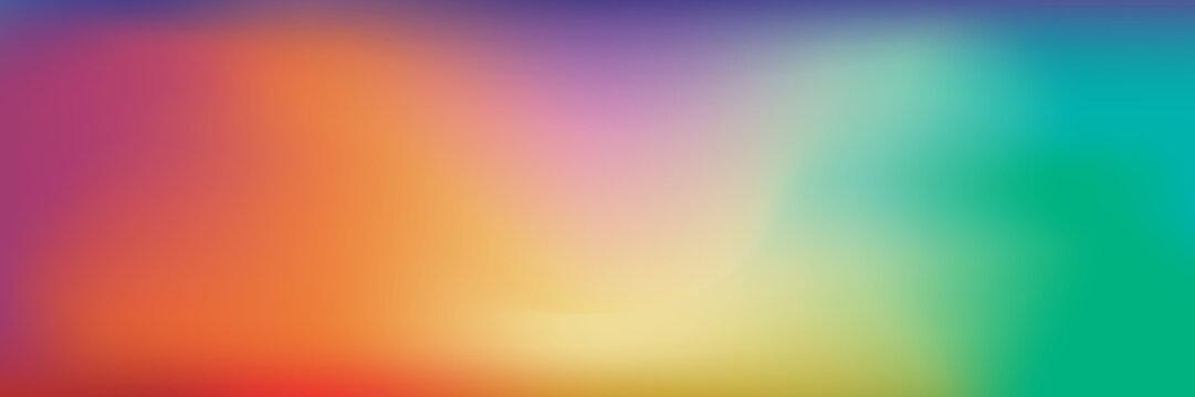 Colorful Blur Gradient Background