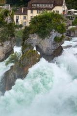 Rheinfall waterfall
