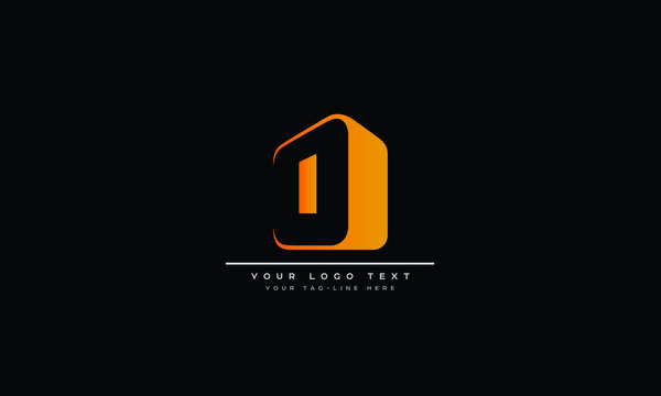 Abstract Letter O, OO and circle Logo design