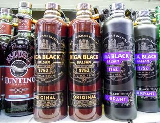 Riga Black Balsam is a traditional Latvian herbal liqueur