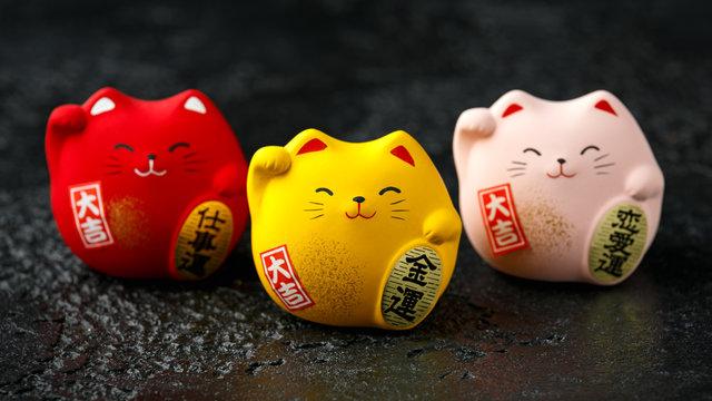 Maneki Neko Feng Shui japanese lucky cat