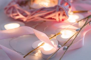 14 february happy valentines day llight heart love celebration