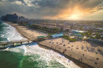 Aerial of Fort Lauderdale Florida