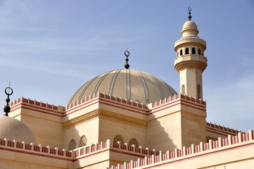 Wundervolle Al Fathe Moschee in Manama