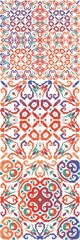 Foto op Textielframe Marokkaanse Tegels Mexican vintage talavera tiles.