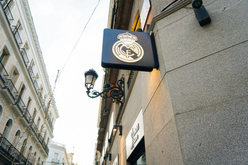 MADRID, SPAIN - DECEMBER 26TH, 2020: Official clothing store