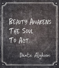 soul to act Dante quote