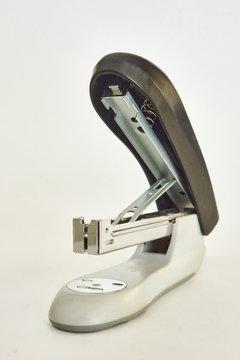 Office stapler closeup realistic photo