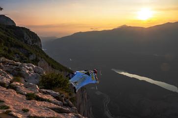 Sunset wingsuit