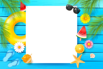 Abstract background with summer element 001