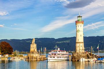 Leuchtturm, Lindau am Bodensee, Deutschland