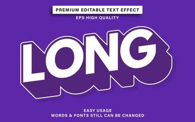 Wall Mural - Long text effect