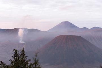 A landscape in Indonesia