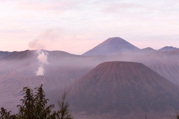 A landscape in Indonesia