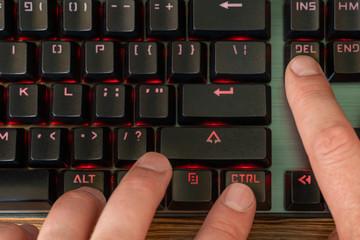 keyboard shortcut ctrl alt del