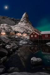 Horn Reine Lofoten Norvegia