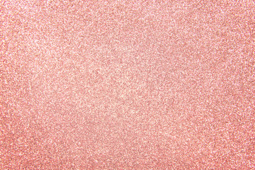 Fototapete - rose gold - bright and pink champagne sparkle glitter pattern background