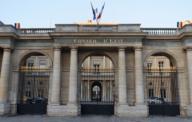 The Council of State is an administrative court of the French government, Paris.
