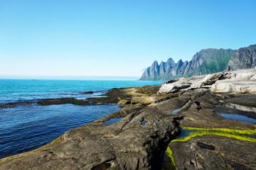 Steinfjord on Senja island