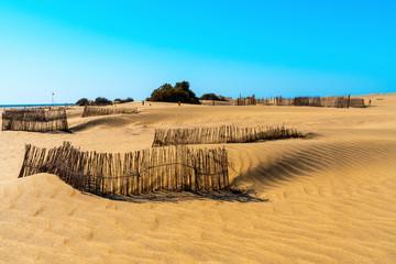 Dunes at Maspalomas in Gran Canaria