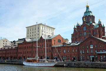 Uspenski orthodox cathedral in Helsinki