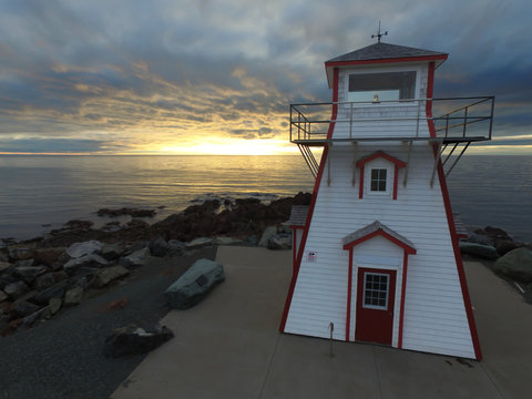 Wood Lighthouse in North America