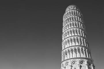 Fototapete - Leaning tower in Pisa, Tuscany, Italy