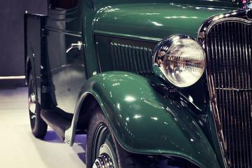 Fond de hotte en verre imprimé Vintage voitures クラシックカー
