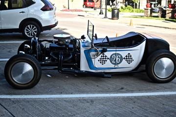 Papiers peints Vintage voitures Beautiful small hot rod car