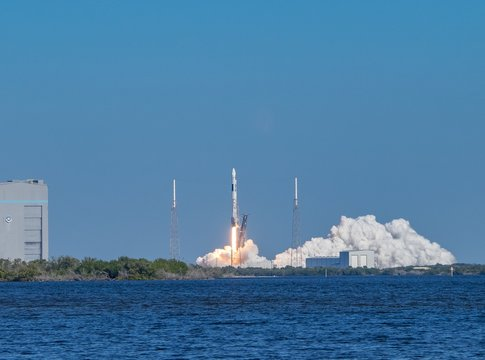 Falcon 9 launch from Launch Complex 40 on Cape Canaveral Air Force Station