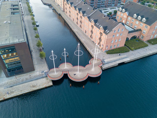 Circle Bridge in Copenhagen, Denmark