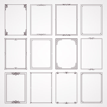 labels and frames