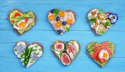 Brotzeit zum Valentinstag