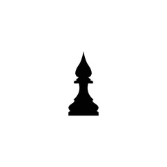 elephant figure in chess icon