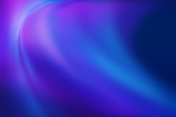 Abstract gradient background. Ultraviolet glow on a dark abstract background. Empty wallpaper...