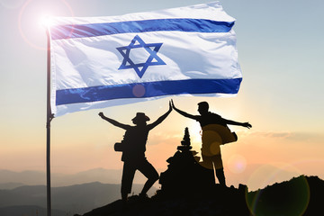 The concept of struggle, victory and peace ambassadors for Israel, the most successful country in the world