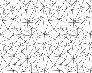 Seamless polygonal pattern background, creative design templates