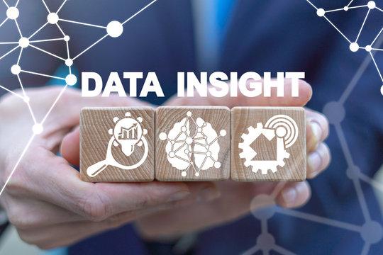 Data Insight Business Analytics Technology Concept.