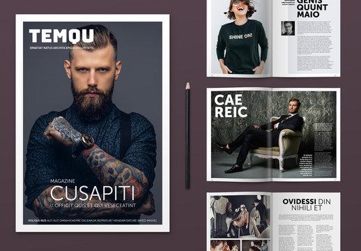 Modern Style Magazine Layout