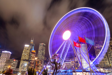 Hong Kong Observation Wheel at Central Pier
