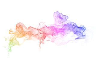 Garden Poster Smoke Abstract colorful smoke