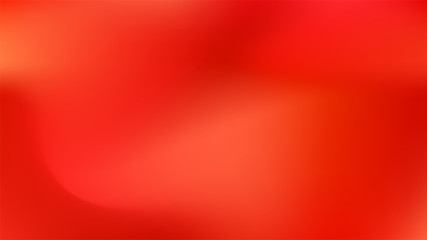 Vermilion colored abstract gradient mesh
