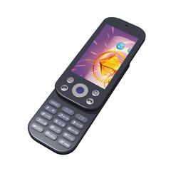 携帯電話-スライド式