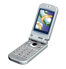 携帯電話-折りたたみ式