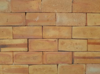 Red brick wall vintage background