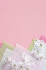 桜の花 和紙