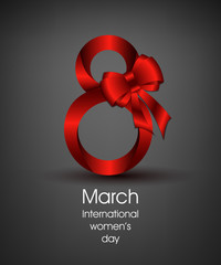 Gift card for International Women's Day March 8