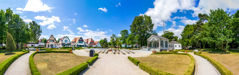 Fototapete - Altstadt, Boltenhagen, Ostsee, Deutschland